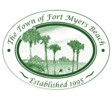 Fort Myers Beach Florida City Logo