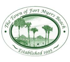 Fort Myers Beach Florida City Logo